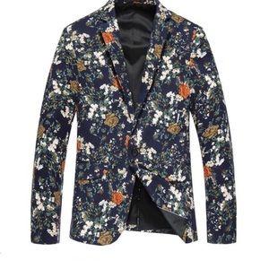Other - Men's floral blazer